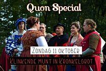 Quon Special: Klinkende munt in Kronkelgrot - zondag 11 oktober