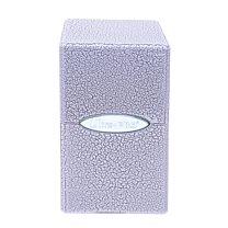 Deck Box - Satin Tower - Ivory Crackle