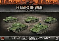 T-34 (Early) Tank Company (x5 Plastic)