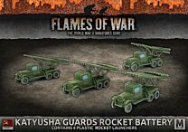 Katyusha Guards Rocket Battery (x4 Plastic)