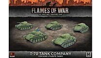 T-70 Tank Company (x5 plastic tanks)