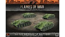 SU-122 MEDIUM SP BATTERY (x4 tanks)