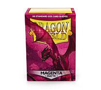 Standard Sleeves - Matte Magenta (100 Sleeves)
