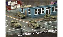 Scorpion or Scimitar Troop