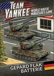 Gepard Flakpanzer Batterie