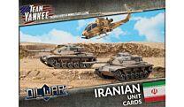 Iranian Unit Cards