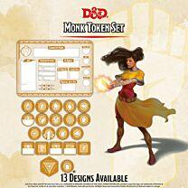 D&D Class Tokens - Monk