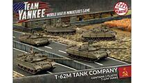 Soviet T-62 Tank Company