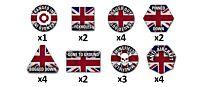 Team Yankee British Token Set