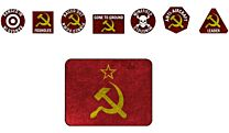 WW3 Soviet Token Set