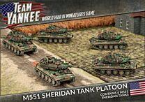 M551 Sheridan Tank Platoon