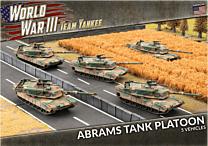 M1A1 Abrams Tank Platoon (x5 Plastic)