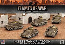M3 Lee Tank Platoon (plastic)