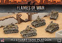 M3 Stuart Light Tank Platoon (plastic)