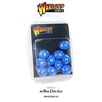 D10 Dice Pack - Blauw