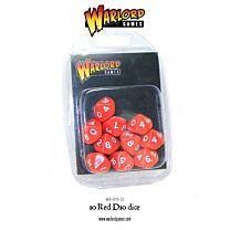 D10 Dice Pack - Rood