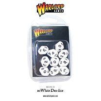 D10 Dice Pack - Wit