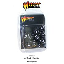 D10 Dice Pack - Zwart