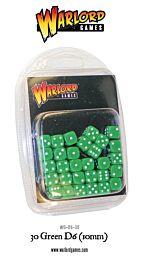 D6 Dice Pack - Groen