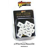 D6 Romeinse Cijfers, Wit