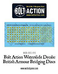 BA British Armour Bridging discs decal sheet