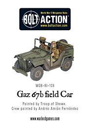 Soviet Gaz 67b field Car