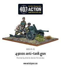 Soviet 45mm Anti Tank Gun