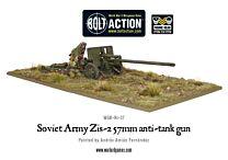 Soviet Army Zis-2 57mm anti-tank gun
