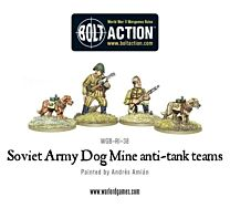 Soviet Army Dog Mines anti-tank teams