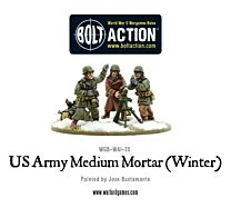 US Army Medium Mortar (Winter)