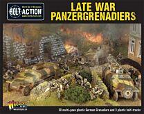 Late War Panzergrenadiers (30+ 3 Hanomags)