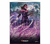 Stained Glass Wall Scroll Magic: The Gathering - Liliana