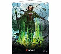Stained Glass Wall Scroll Magic: The Gathering - Nissa
