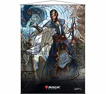 Stained Glass Wall Scroll Magic: The Gathering - Teferi