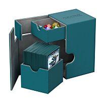Flip´n´Tray Deck Case 100+ Standard Size XenoSkin - Petrol Blue