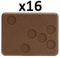 Large Bases - 6 holes
